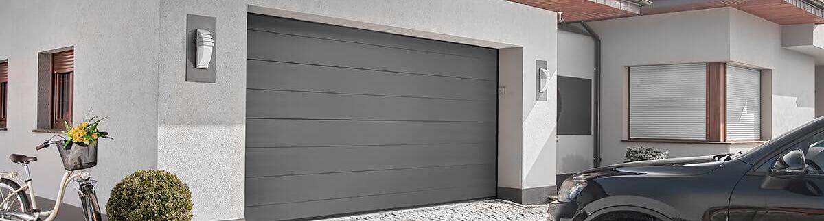 brama garażowa z bardzo szybkim montażem